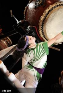 和太鼓の初舞台